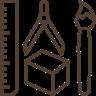 Grafická příprava ikona