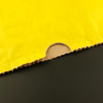 Výsek na palec v papírovém pytli