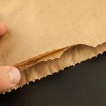Hnědý dvouvrstvý papírový pytel