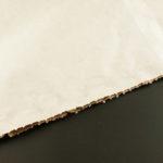Bílá barva papírového pytle
